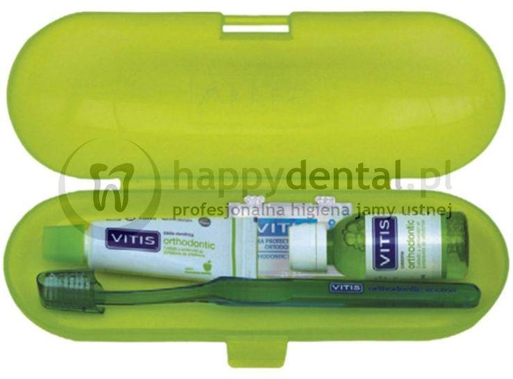 VITIS Orthodontic zestaw ortodontyczny do pielęgnacji jamy ustnej i aparat ortodontycznego