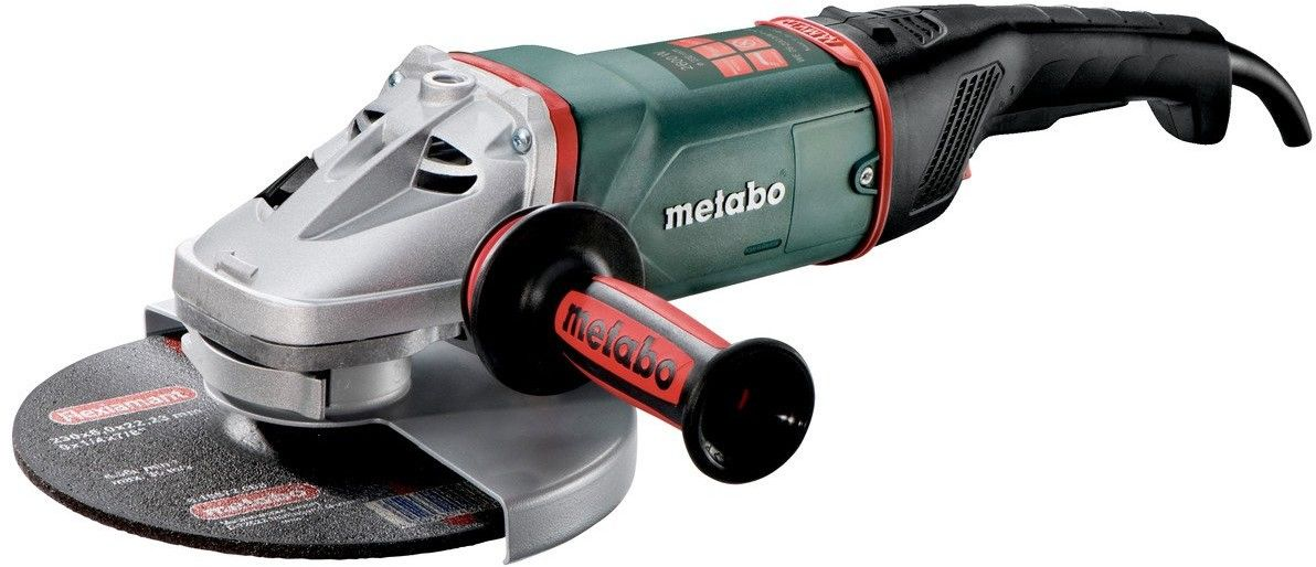 Szlifierka kątowa Metabo WE 26-230 MVT Quick, 2600 W z wyłącznikiem czuwakowym