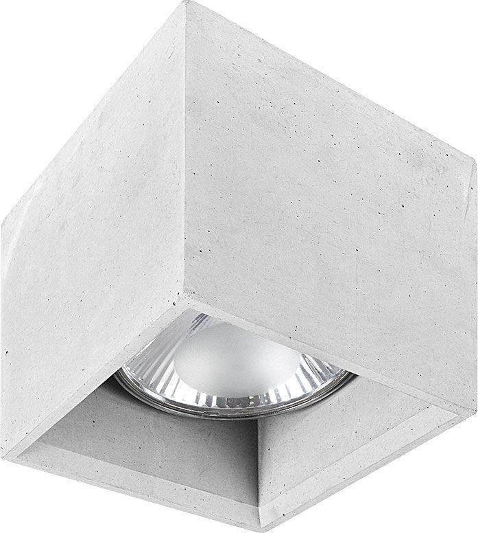 Plafon Bold M 9392 Nowodvorski Lighting sześcienna betonowa oprawa natynkowa