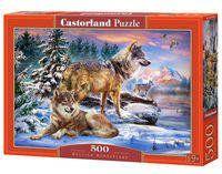 Puzzle Wolfish Wonderland 500 - Castorland