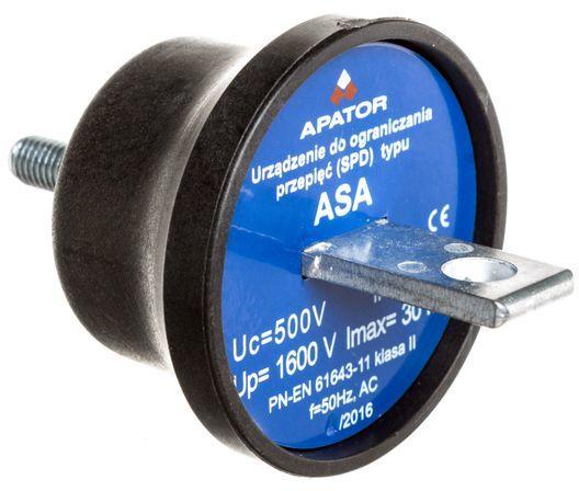 Ogranicznik przepięć A 500V 5kA ASA 500-5B 63-930100-131