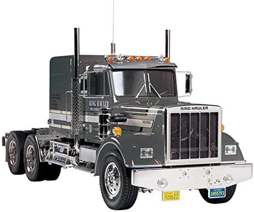 Tamiya 1:14 ciężarówki - ciężarówki RC King Hauler Black Edition