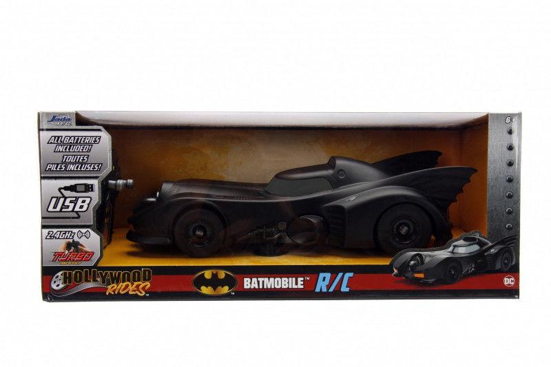 Pojazd Batman RC 1989 Batmobile