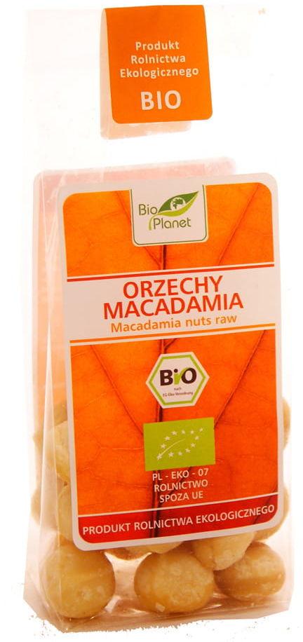 Orzechy Macadamia BIO - Bio Planet - 75g