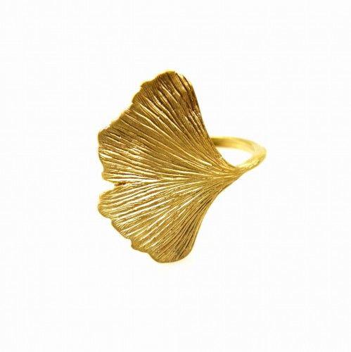 Miłorząb złoty - pierścionek