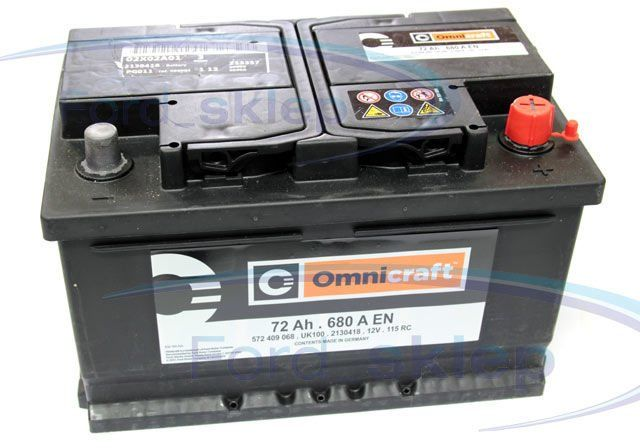 akumulator Omnicraft - 72AH 680A / oryginał 2130418