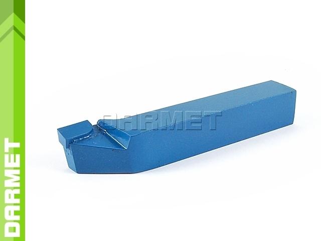 Nóż tokarski boczny odsadzony lewy NNBf ISO6, wielkość 1010 S20 (P20), do stali