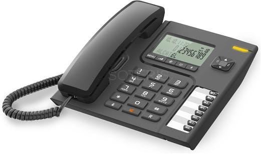 Alcatel T76 telefon przewodowy z wyświeltaczem i CLIP