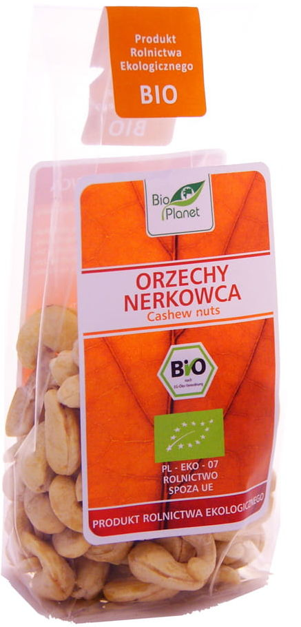 Orzechy nerkowca BIO - Bio Planet - 100g