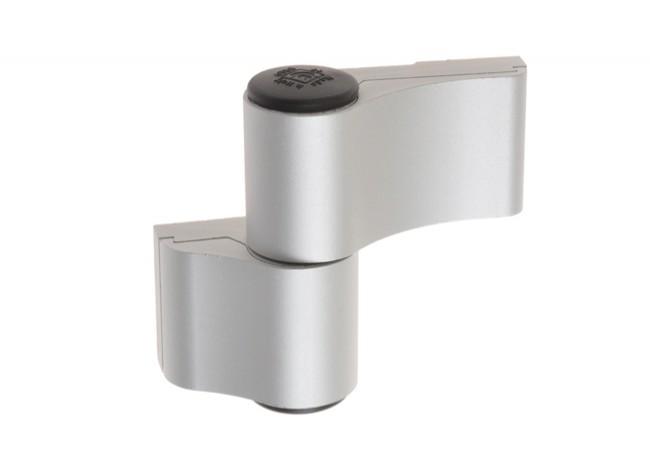 Zawias dwuczęściowy Master Dynamika L-67 mm do aluminium, anoda