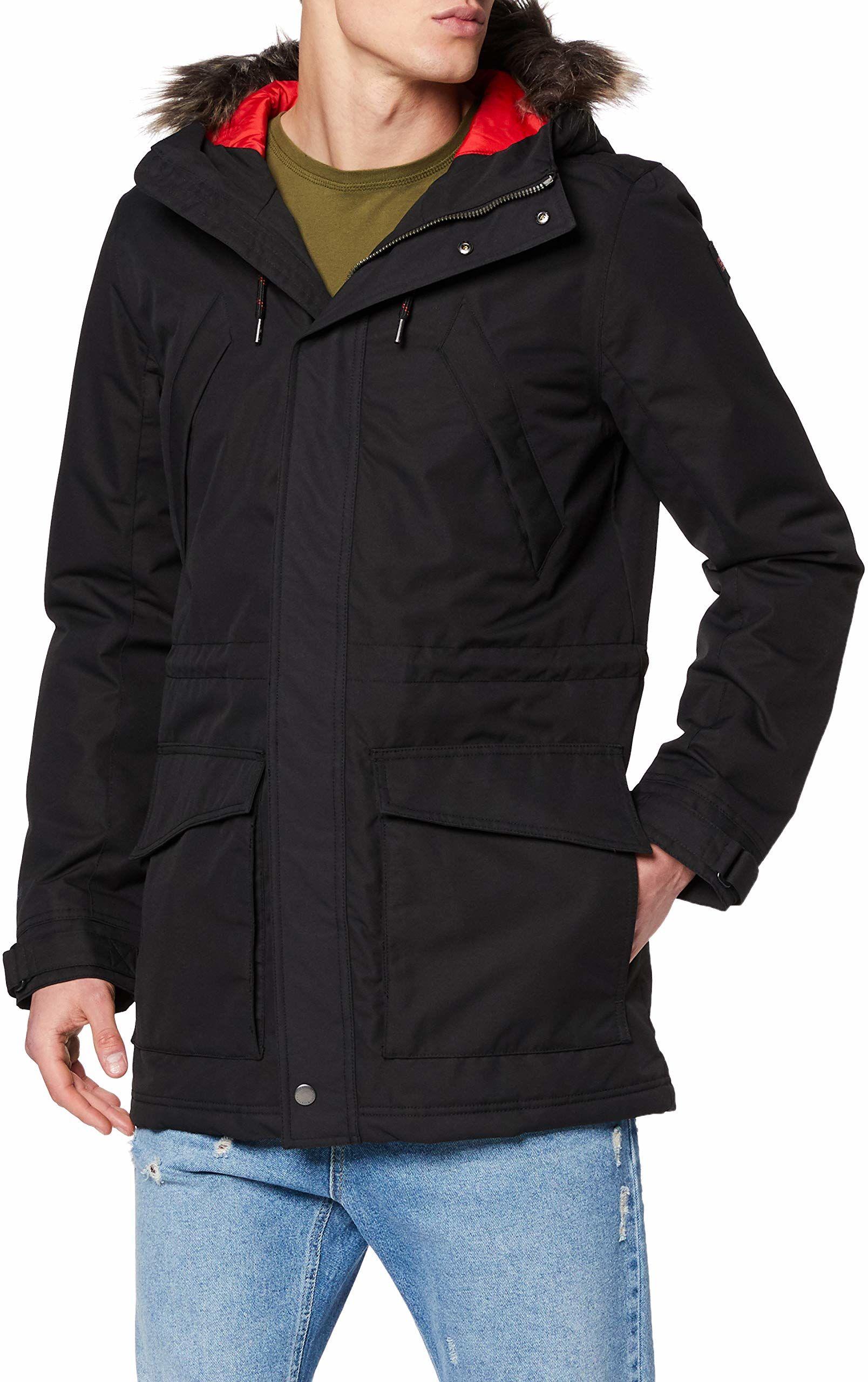 O''Neill LM FLINT CANVAS PARKA Jackets Technical, Black Out, XL