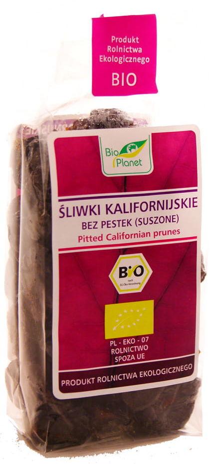 Śliwki kalifornijskie bez pestek suszone BIO - Bio Planet - 200g