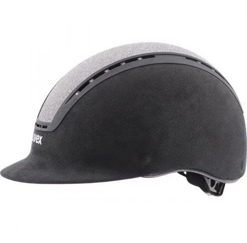 Kask UVEX model SUXXEED GLAMOUR - black/silver