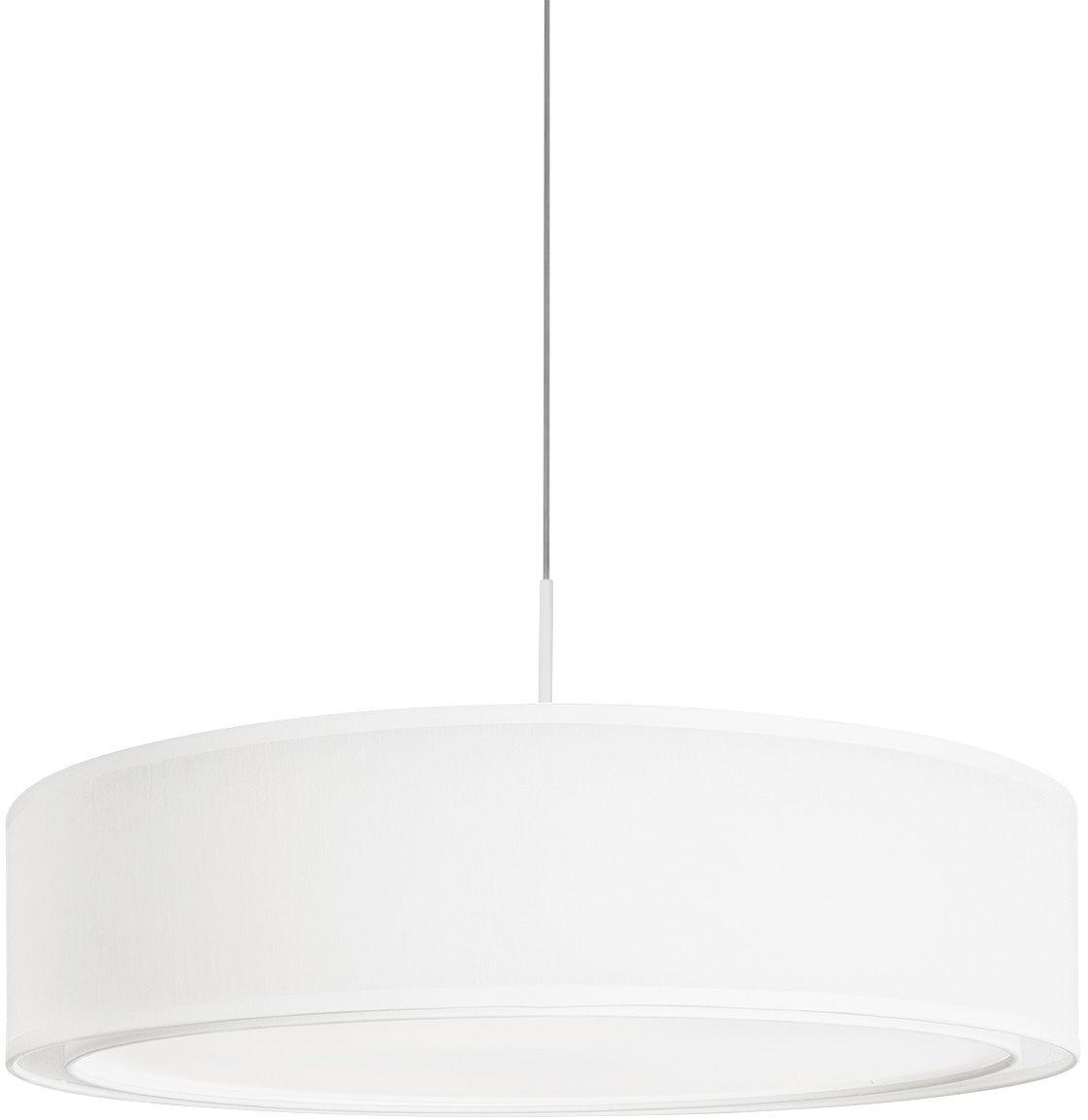 Lampa wisząca Mist 8942 Nowodvorski Lighting okrągła biała oprawa w nowoczesnym stylu