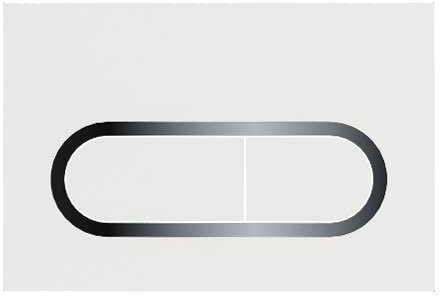 Ravak przycisk do WC Chrome satyna X01454