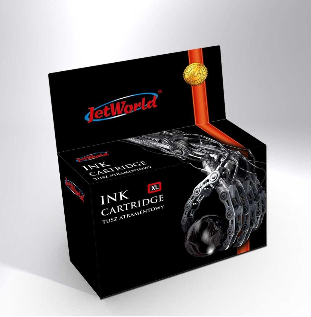 Tusz JetWorld Czarny Kodak 30BK XL zamiennik 3952363