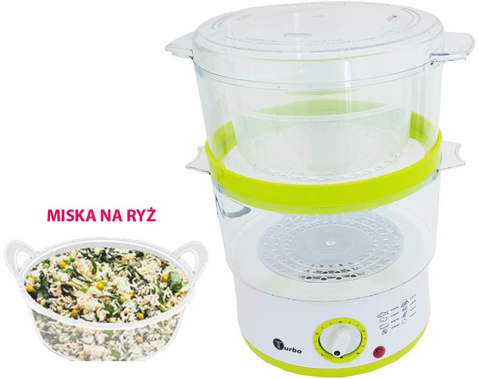 Tv1205w Parowar  metalowy miska na ryż TURBO