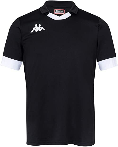 Kappa Tranio koszulka polo, męska L czarno-biała