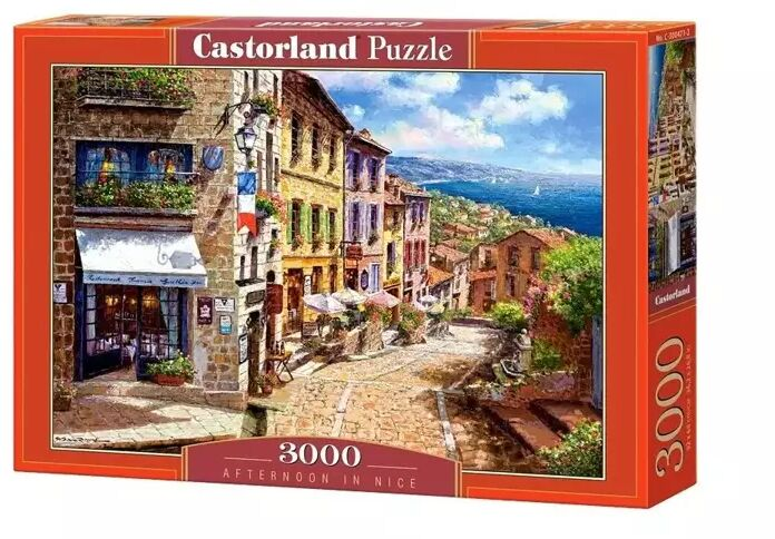 Puzzle 3000 Afternoon in Nice CASTOR - Castorland
