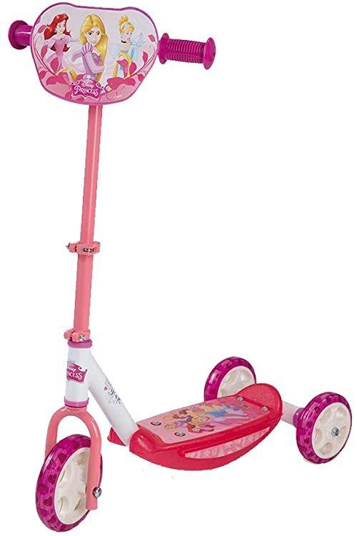 Smoby  Disney Princess  hulajnoga z 3 kołami  hulajnoga dziecięca  ciche kółka  750153