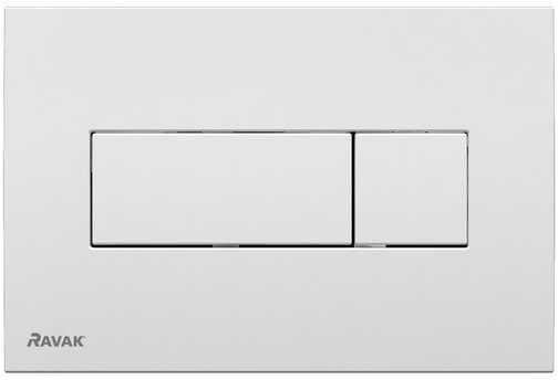 Ravak przycisk do WC Uni satyna X01456