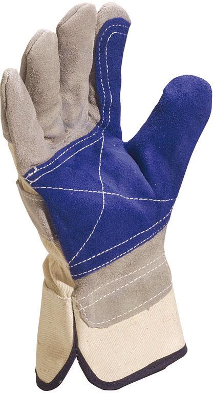 Rękawice robocze typu DOCKER z dwoiny bydlęcej DS202RP