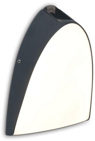 Kinkiet elewacyjny LED Apollo 2 punktowy IP54 szary 14W - Lutec Do -17% rabatu w koszyku i darmowa dostawa od 299zł !