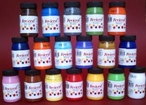 Farby do Tkanin Fevicryl Acrylic Colours 50 ml