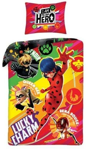 Pościel Miraculous Biedronka i Czarny Kot Ladybug Heroes MIR 4347BL