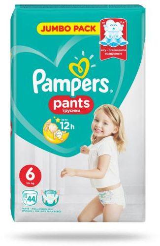 Pampers Pants 6 pieluchomajtki 15+ kg 44 sztuki