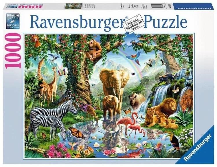 Puzzle 1000 Przygoda w dżungli - Ravensburger