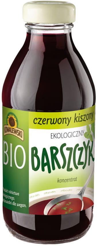 Barszcz czerwony kiszony bezglutenowy koncentrat bio 320 ml - kowalewski