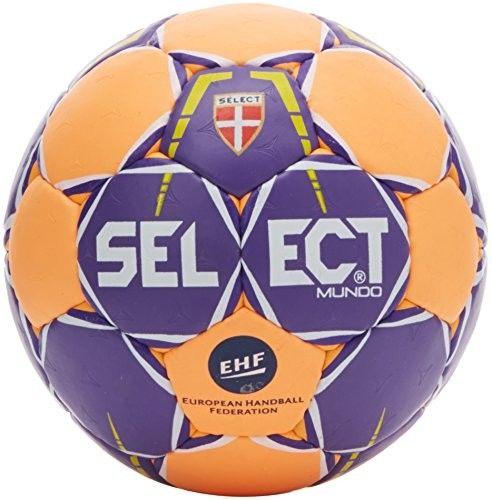 Piłka ręczna Select Mundo EHF fioletowa #2