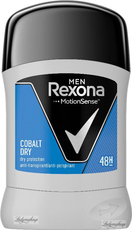 Rexona - Men - Cobalt Dry - Anti-Perspirant 48H - Antyperspirant w sztyfcie dla mężczyzn - 50 ml