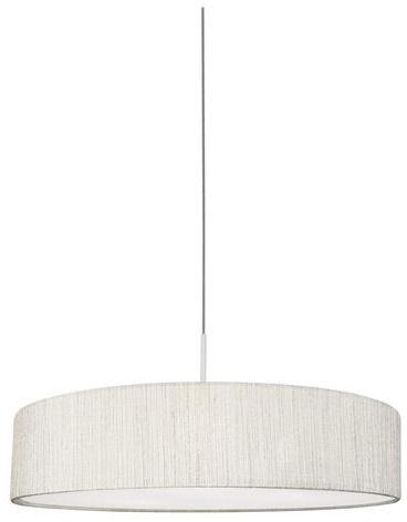 Lampa wisząca Turda 8945 Nowodvorski Lighting biało-srebrna okrągła oprawa wiszaca