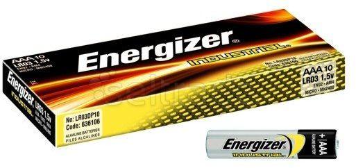 Baterie Alkaliczne Energizer Industrial LR03 AAA 10 sztuk