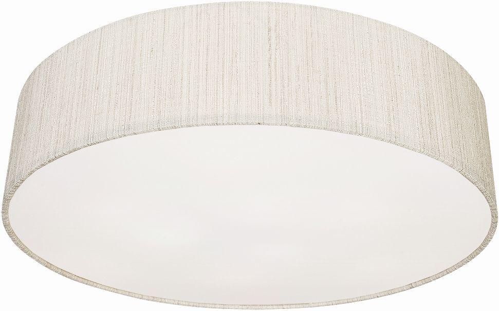 Plafon Turda 8952 Nowodvorski Lighting biało-srebrna okrągła oprawa sufitowa