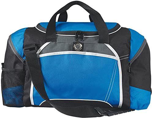 eBuyGB duża torba sportowa na siłownię do piłki nożnej, niebieska