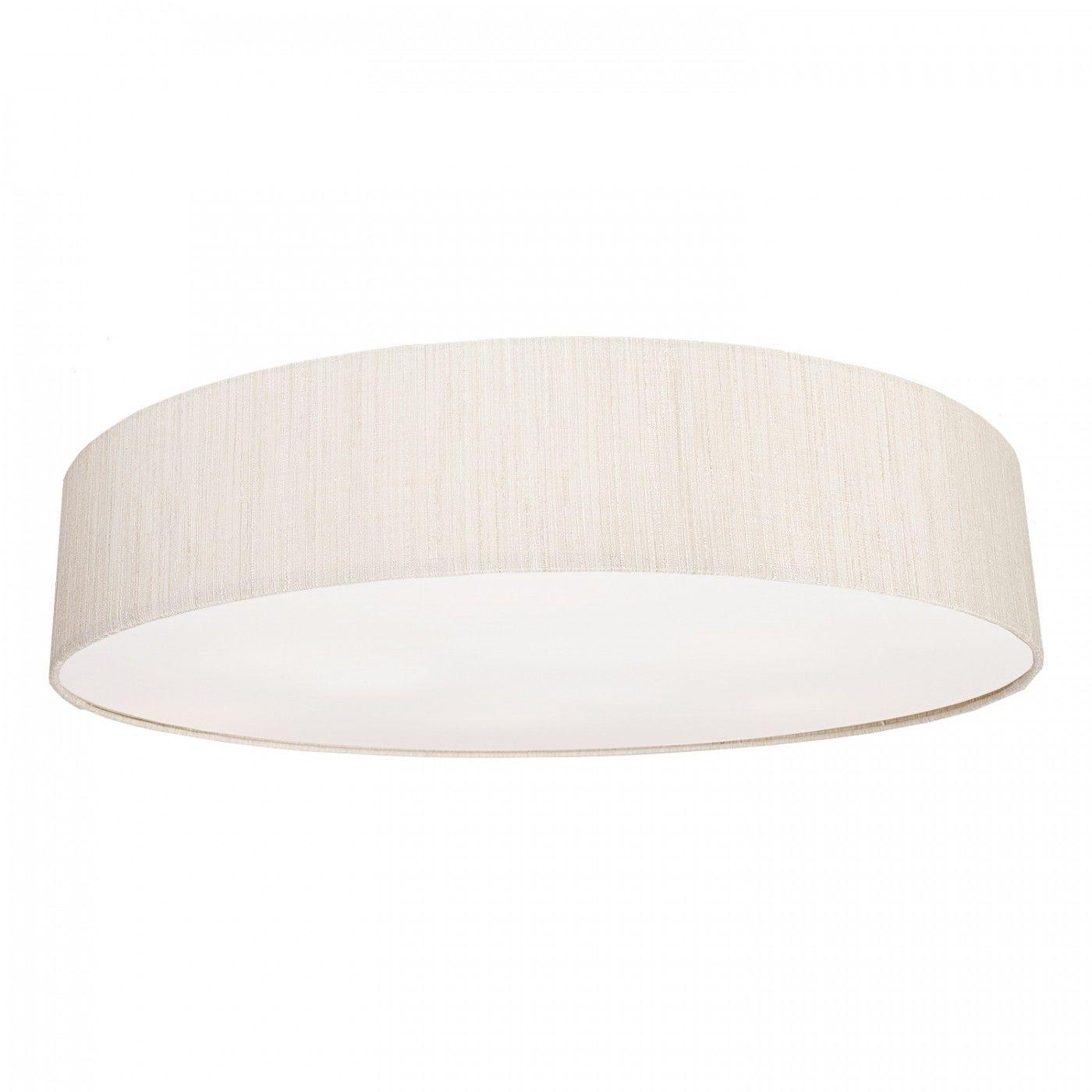 Plafon Turda 8958 Nowodvorski Lighting biało-srebrna okrągła oprawa sufitowa