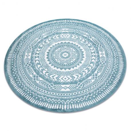 Dywan FUN Napkin serweta koło - niebieski koło 100 cm