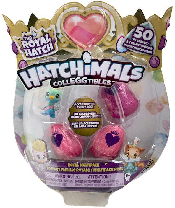 Hatchimals ColleGGtibles - Jajko niespodzianka 3-pak z niespodziaką 20108879A