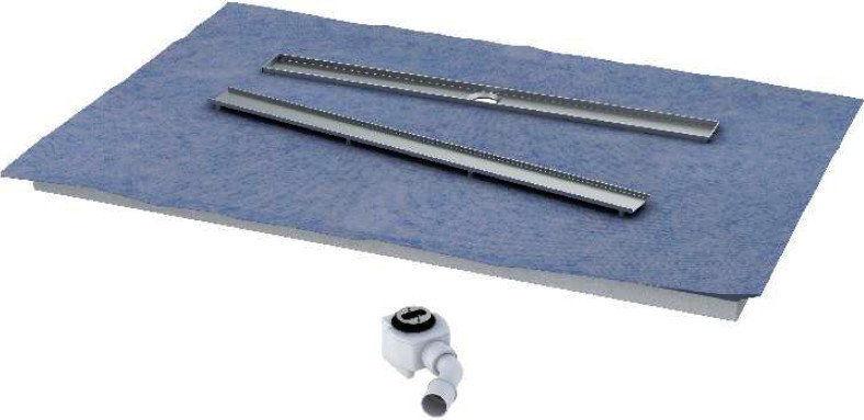 Schedpol Odpływ liniowy płyta spadkowa 70x140 cm ruszt PLATE