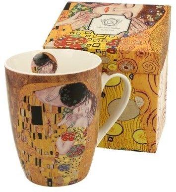 Kubek Porcelanowy The Kiss Gustav Klimt Pocałunek 380ml Duo Obraz