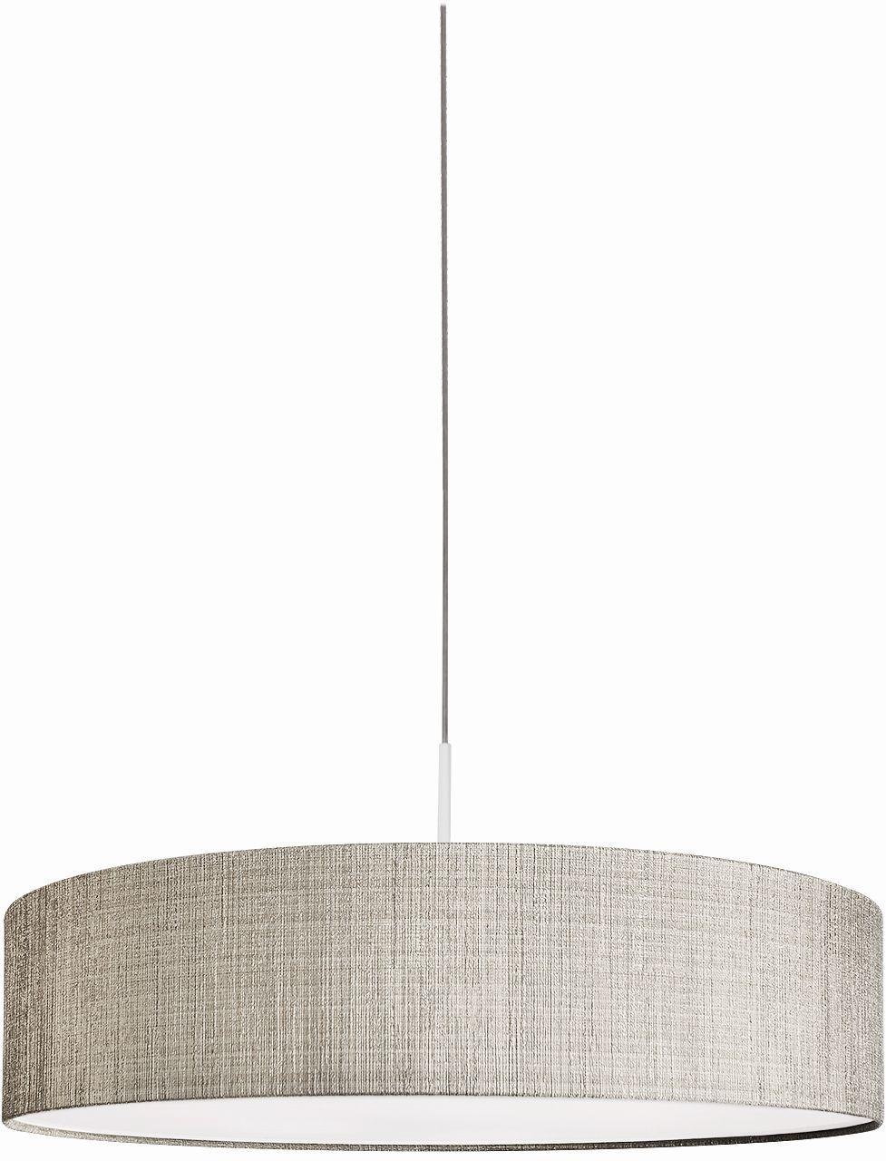 Lampa wisząca Turda 8947 Nowodvorski Lighting minimalistyczna okrągła oprawa w kolorze szarym