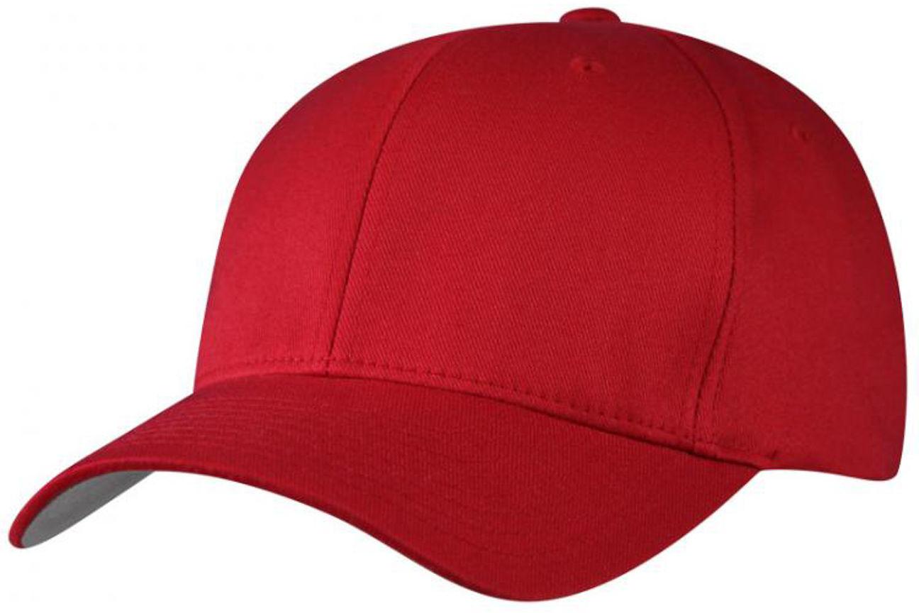 Czapka Spandex Flexfit, czerwony, XXL (62-63 cm)