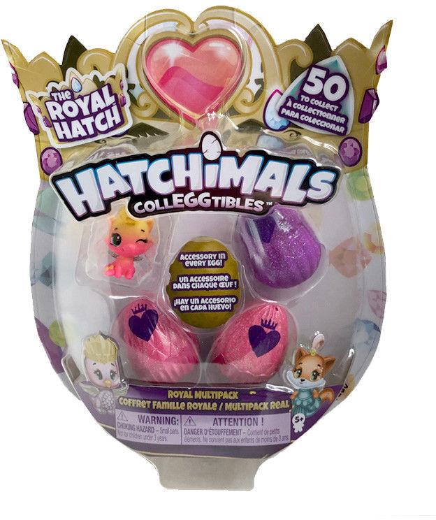 Hatchimals ColleGGtibles - Jajko niespodzianka 3-pak z niespodziaką 20108879B