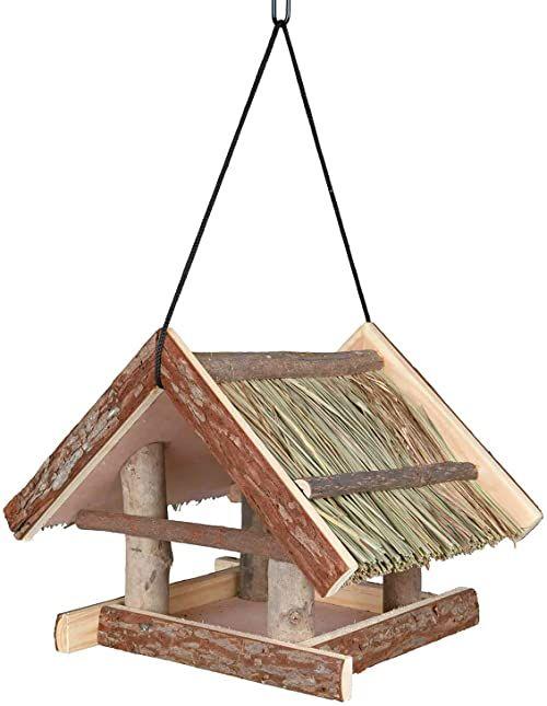 Trixie Żywy karmnik dla ptaków, 25 x 25 x 25 cm, naturalny