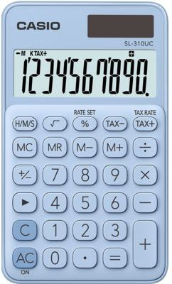 Kalkulator CASIO SL-310UC-LB-S Jasnoniebieski