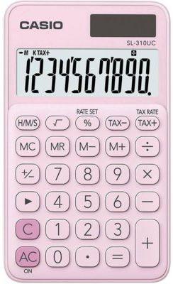 Kalkulator CASIO SL-310UC-PK-S Różowy