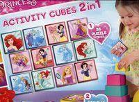 Disney Princess Activity Cubes 2w1
